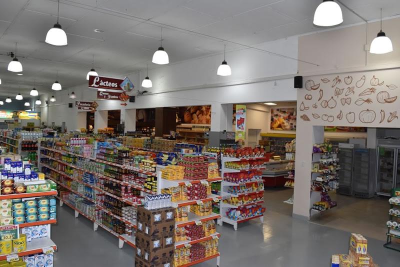 Góndolas del Supermercado