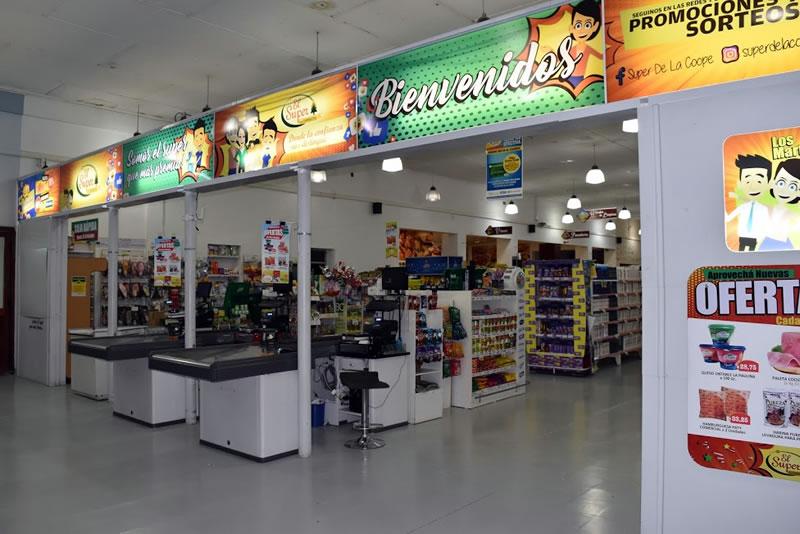 Ingreso a nuestro Supermercado